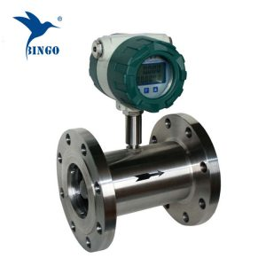 स्टेनलेस स्टील deionized पानी टरबाइन प्रवाह मीटर सेंसर