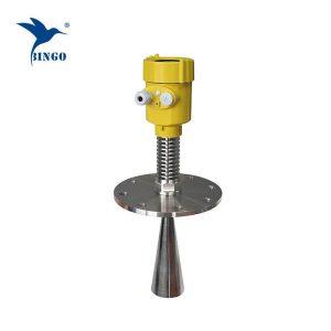 स्टेनलेस स्टील 316L जांच रडार स्तर ट्रांसमीटर उच्च तापमान