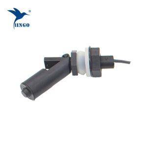 पानी के डिस्पेंसर के लिए एम 16 धागा कनेक्शन काला क्षैतिज विद्युत पानी फ्लोट स्विच